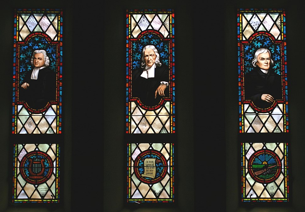 Wesley stained glass 9216