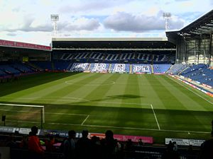 The Hawthorns, home of West Bromwich Albion F.C. West brom stadium.JPG
