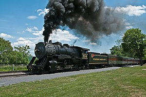 Western Maryland Scenic Railroad - Image: Western Maryland RR 734