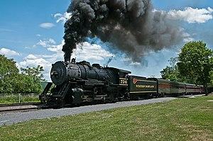 Western Maryland Scenic Railroad - Image: Western Maryland RR 734