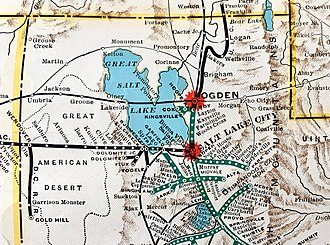 Western Pacific Railroad - Western Pacific in Utah 1931