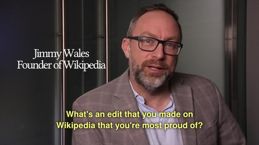 File:What's an edit that you made on Wikipedia that you're most proud of?.webm