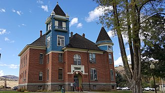 Wheeler County, Oregon - Image: Wheeler County Courthouse OR