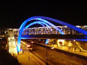 White Horse Bridge - The White Horse Bridge at night