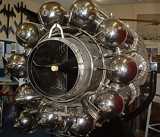 Frank Whittle - The W2/700 engine, or W.2B/23 as it was known to the Air Ministry. It was the first British production jet engine, powering early models of the Gloster Meteor.