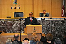 Wichita State of the City address.jpg