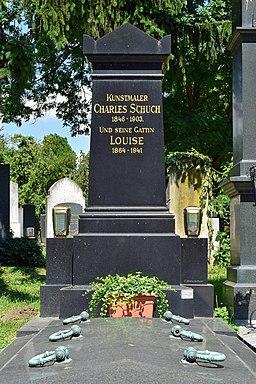 Wiener Zentralfriedhof - Gruppe 41 F - Carl Schuch