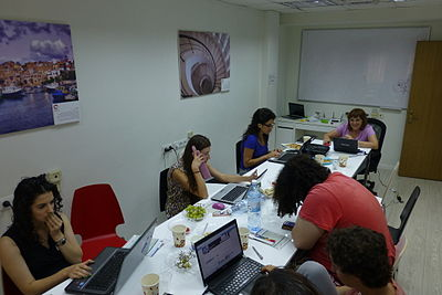 Wiki Women Editors Project - Opening Meeting (1).JPG