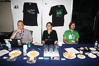 Wikimedia Italia stand in Wikimania 2015 Community Village.JPG