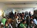 Wikipedians gathering at Wikimedia Deutschland office .jpg