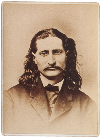 "Wild Bill Hickok - James Butler ""Wild Bill"" Hickok, photograph date unknown"