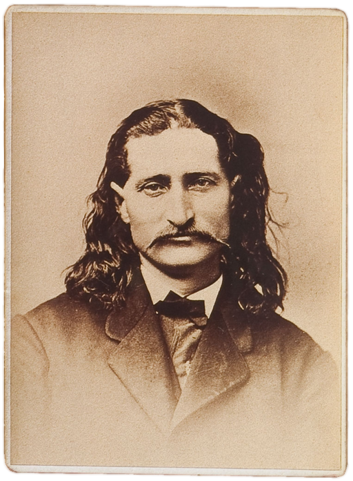 Wild Bill Hickok sepia
