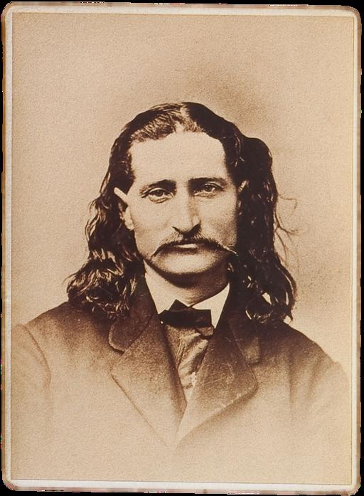 Wild Bill Hickok sepia