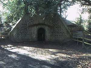 Rufford Abbey - Rufford Abbey Ice House 1