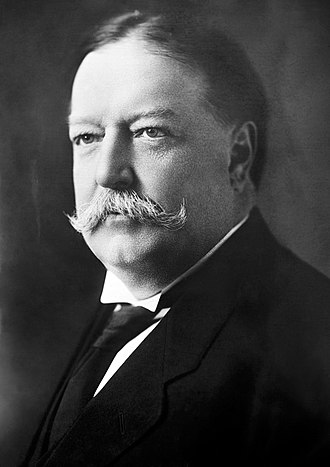 1908 United States presidential election in North Carolina - Image: William Howard Taft, Bain bw photo portrait, 1908