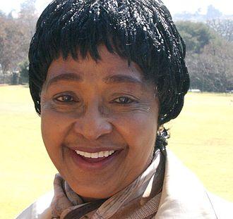 Winnie Madikizela-Mandela - Madikizela-Mandela in 2008