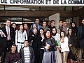 With Moroccan Journalism students in Rabat (3273452266).jpg