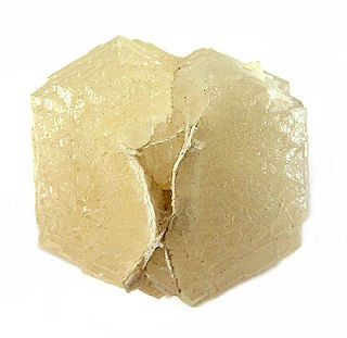 Witherite carbonate mineral