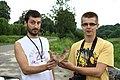 Witryłów, Adam a Maciej našli houbu.jpg