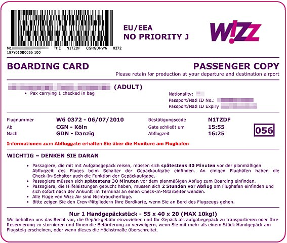 File Wizz Air Boarding Pass From Web Checkin W6 372 Cologne Gdansk 2010 07 06 Jpg Wikimedia Commons