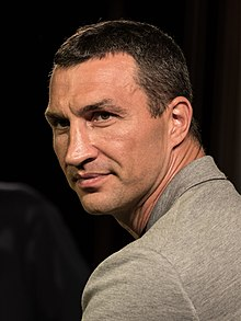 Wladimir Klitschko - the friendly, tough,  boxer  with Ukrainian roots in 2020