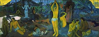 1897 in art - Paul Gauguin, Where Do We Come From? What Are We? Where Are We Going? (oil on canvas), Museum of Fine Arts, Boston, United States