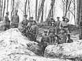 Wojna polsko-bolszewicka - polscy żołnierze w okopie - ckm Schwarzlose wz 07-12 NAC 1-H-372.jpg