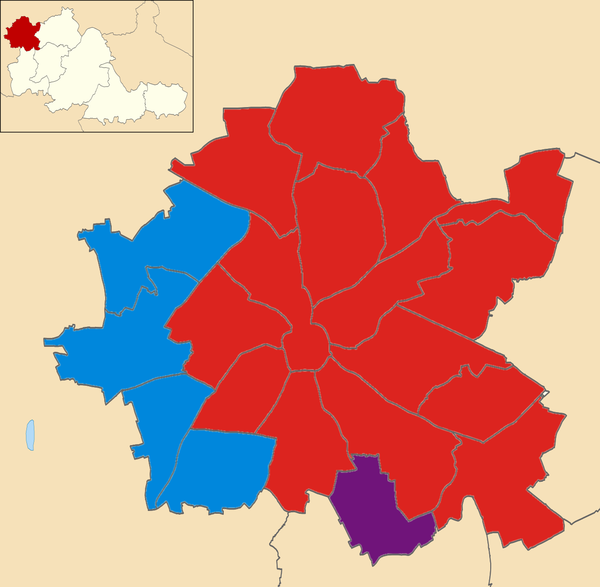 2014 local election results in Wolverhampton