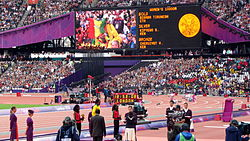 Women's 10,000m Victory Ceremony.jpg
