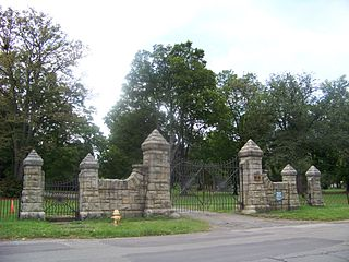 Woodlawn Cemetery (Elmira, New York) cemetery in Elmira, New York