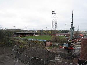Borough Park (Workington) - Image: Workington Association Football Club Ground geograph.org.uk 3242006