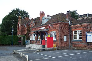 Worplesdon railway station - Image: Worplesdon Railway Station