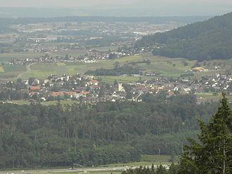 Würenlos - Würenlos from the Rüsler (ob Neuenhof)