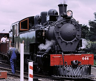 Glenbrook Vintage Railway - Image: Ww 644