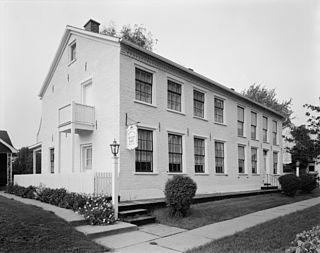 B.H. and J.H.H. Van Spanckeren Row Houses building in Iowa, United States