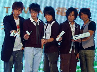 Mayday (Taiwanese band) - Members of Mayday at X06 Taiwan