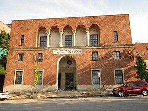 Young Men's and Young Women's Hebrew Association Building - Image: YMWHA Baltimore