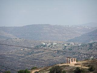 Al-Mazraa ash-Sharqiya Municipality type C in Ramallah and al-Bireh, State of Palestine