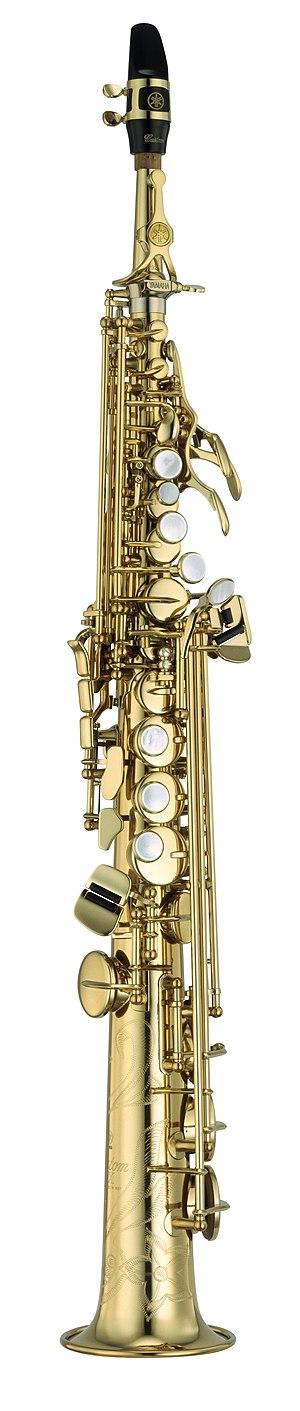 Soprano saxophone - Image: Yamaha Saxophone YSS 875 EX