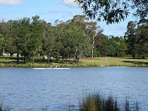 Yarramundi Reach - Image: Yarramundi Reach waters