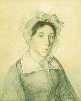 Мать Хомяковой на акварели П. Ф. Соколова