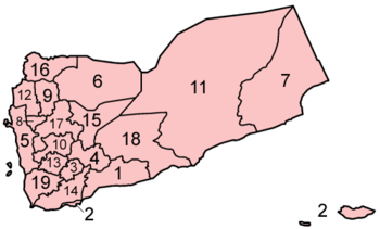 Governorates of Yemen