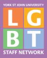 York St John LGBT Staff Network logo.png