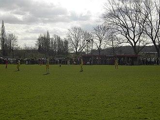 Yorkshire Main F.C. - Image: Yorkshire main fc main stand edlington road ground