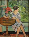 Young Girl in Front of a Window, by Suzanne Valadon, 1930 - San Diego Museum of Art - DSC06734.JPG
