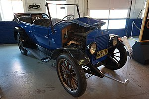 Essex (automobile) - A 1920 Essex at the Ypsilanti Automotive Heritage Museum