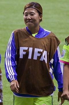 Yuri Kawamura FIFA Women's World Cup CMR vs JPN June 12th, 2015.jpg