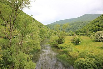 Zalomka - Zalomka in gorge between Gacko and Nevesinje