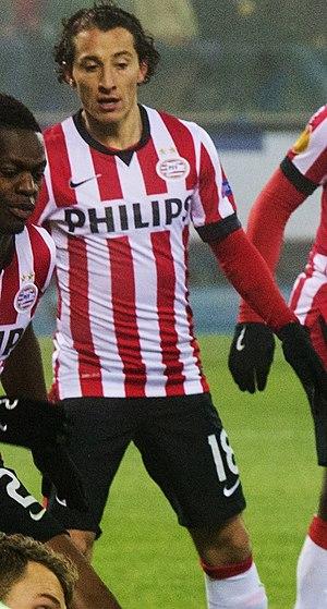 Andrés Guardado - Guardado with PSV in 2015