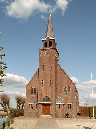 Nieuwkoop - Image: Zevenhoven, kerk 2007 04 18 16.52